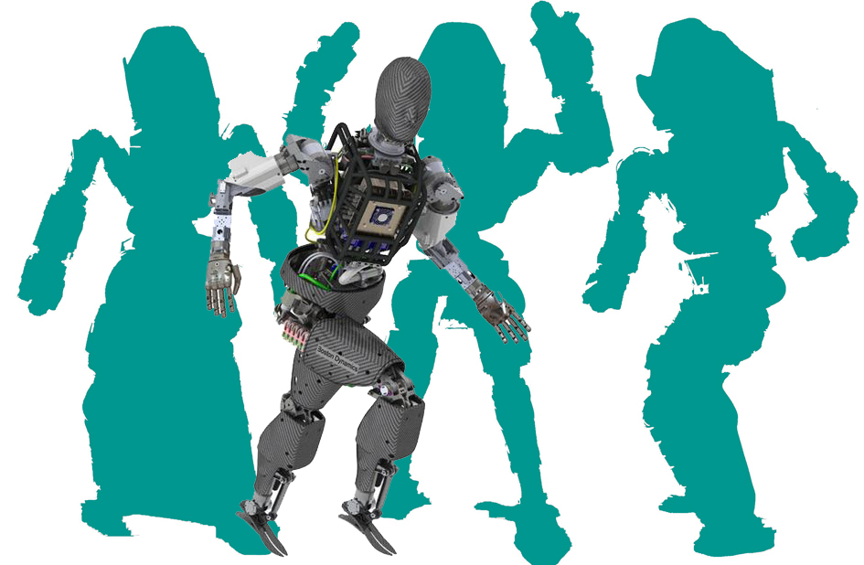 "Quand Google shows ""Atlas"" …. Le Robot humanoïde !"