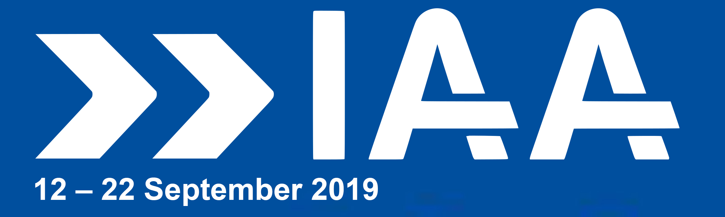 Le Salon Automobile International IAA se tiendra du 14 au 22 septembre 2019 à Francfort !