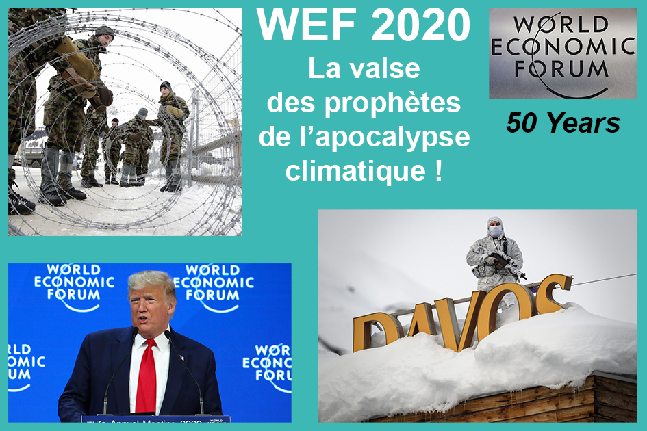 Suisse – Davos : L'ouverture par Donald Trump du 50e World Economic Forum WEF !